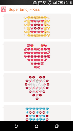 Kiss Emoji and Emoticons