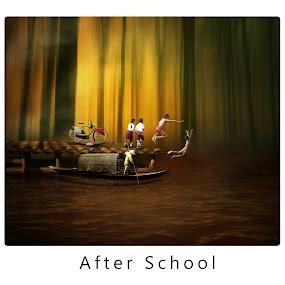 after school by Hendri  Shu - Digital Art People