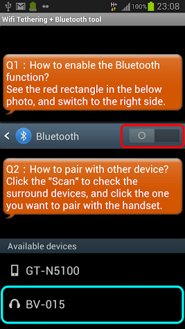 WiFi Tethering /WiFi HotSpot Screenshot