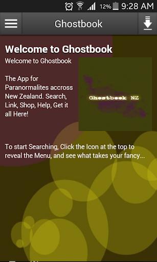 Ghostbook NZ