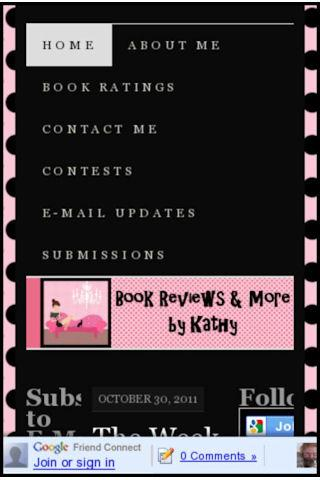 Book Reviews and More by Kathy- screenshot