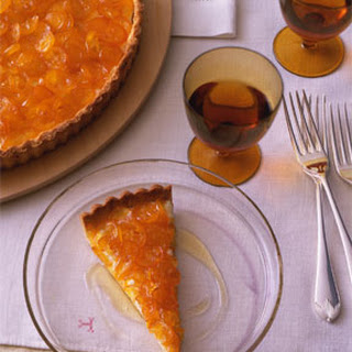 Candied Kumquat and Ricotta Tart.