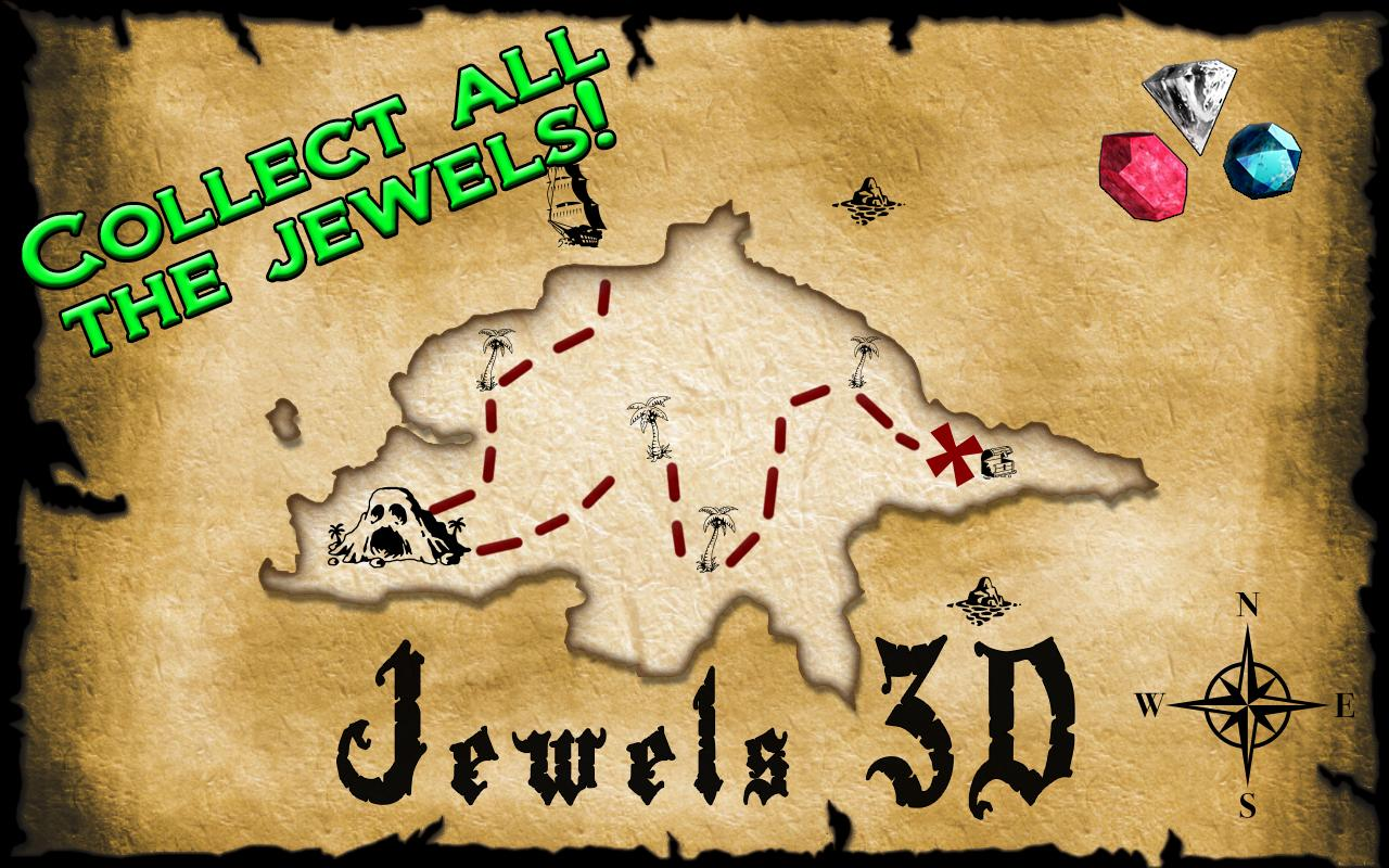 Jewels 3D - screenshot