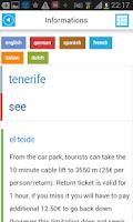 Screenshot of Tenerife Offline Map & Guide