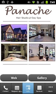 Panache Hair Studio & Day Spa - screenshot thumbnail