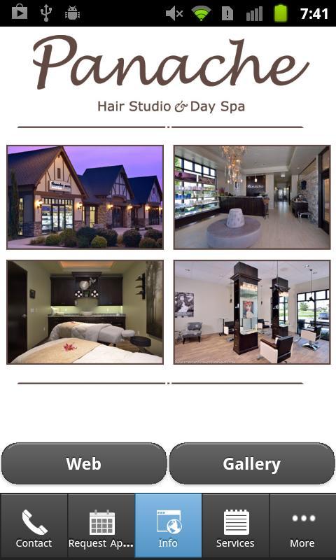 Panache Hair Studio & Day Spa- screenshot