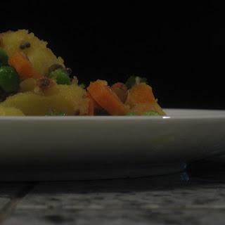 Indian-spiced Potato Salad.