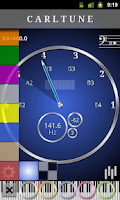 Screenshot of CarlTune - Chromatic Tuner