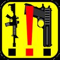 Gun Geo Marker icon