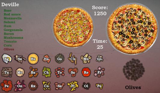 DeVille Pizza screenshot