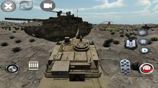 真正坦克模擬3D遊戲