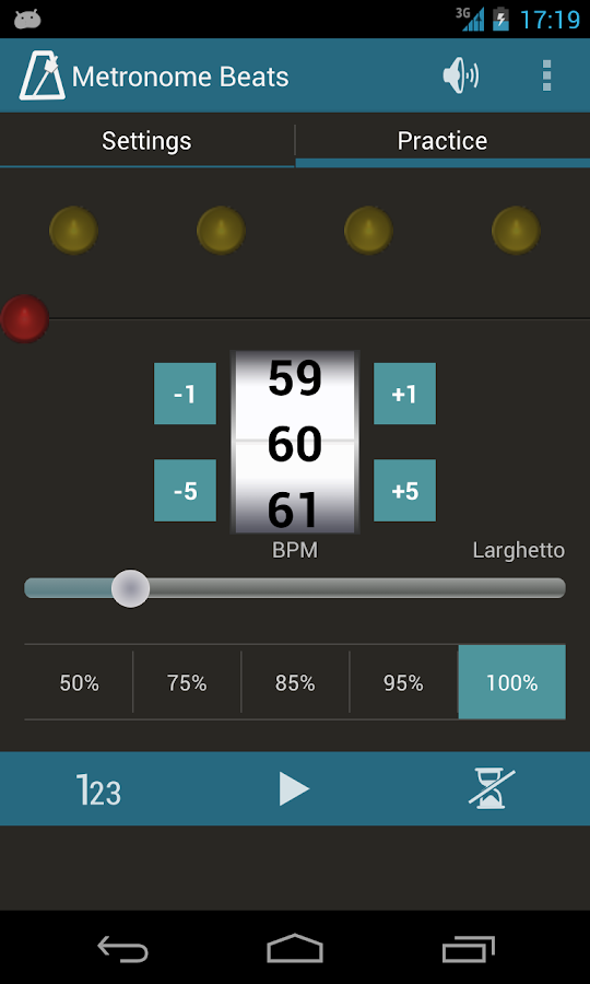 Metronome Beats - screenshot