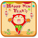 T-Happynewyear  GO LockerTheme icon