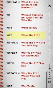 Explicit Texting Dictionary v1.5