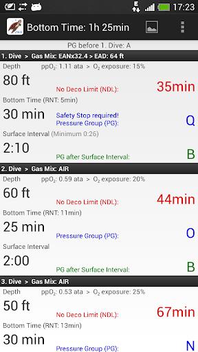 玩免費運動APP|下載Dive Planner Pro app不用錢|硬是要APP