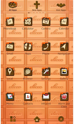 Halloween Chocolate Wallpaper 1.1 Windows u7528 2