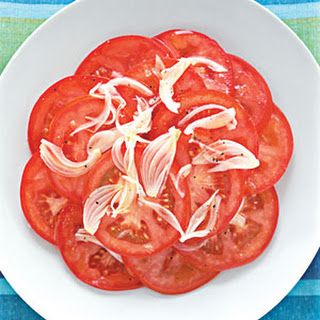 Tomato and Shallot Salad