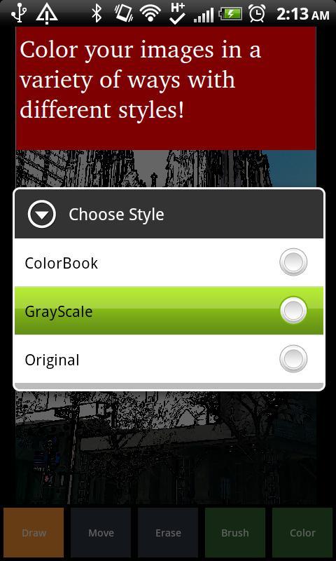ColorBook - screenshot