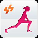 Warm-up run before logo