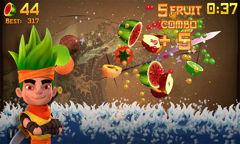 Fruit Ninja - screenshot