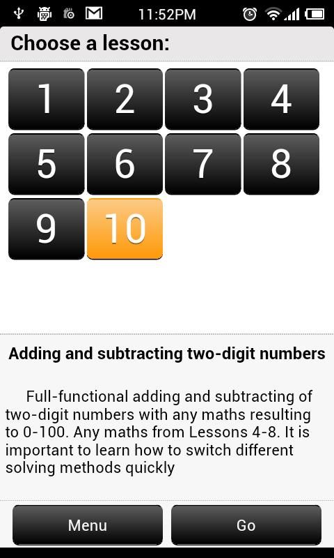 Addition and Subtraction 2- screenshot