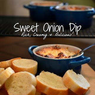 Sweet Onion Dip.