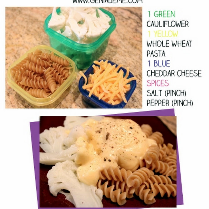 21 Day Fix Mac and Cheese with Cauliflower Recipe