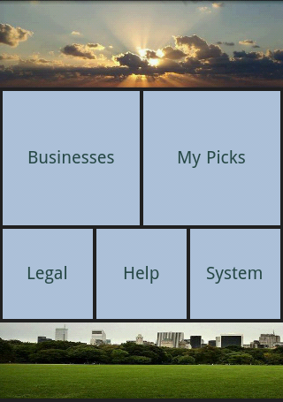 Business App Pages