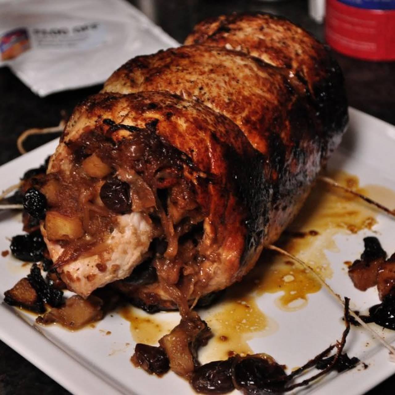 Fig-Stuffed Pork Roast