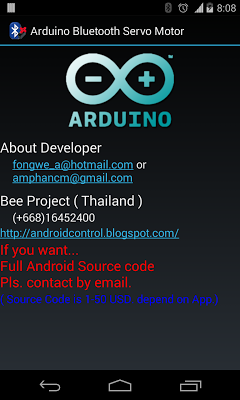 Arduino Bluetooth Servo Motor on Google Play Reviews | Stats
