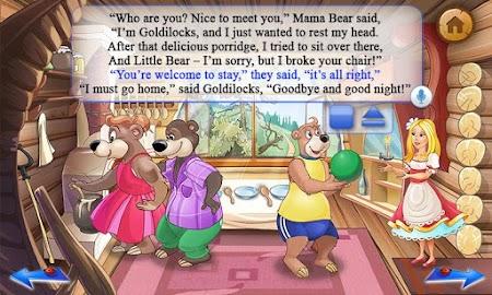 Goldilocks & Three Bears Book Screenshot 3