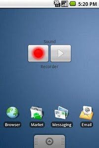 Sound Recorder Widget screenshot 0