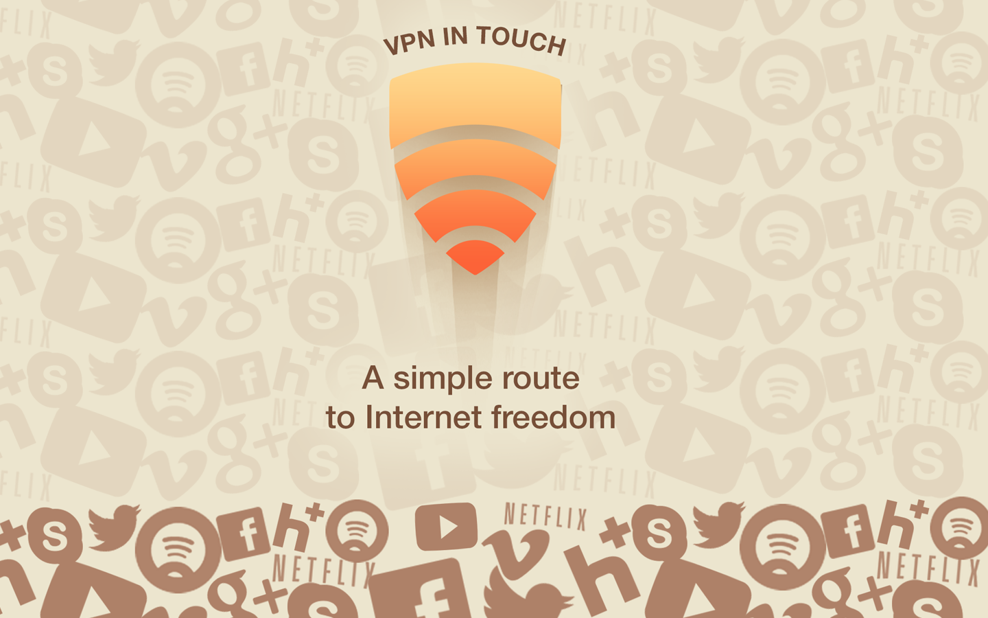 VPN in Touch for Android - screenshot