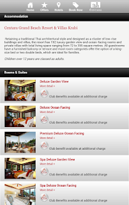 Centara Hotels & Resorts screenshot 7