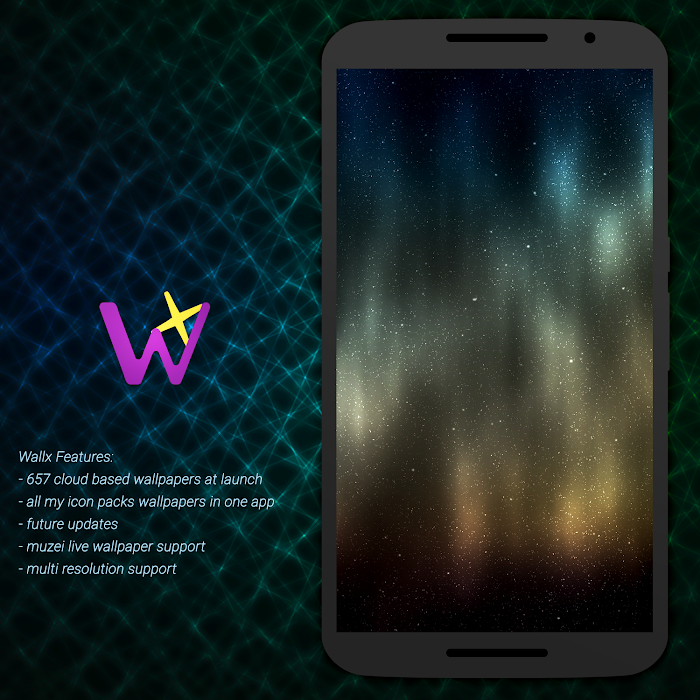 Wallx - Wallpaper Pack- screenshot