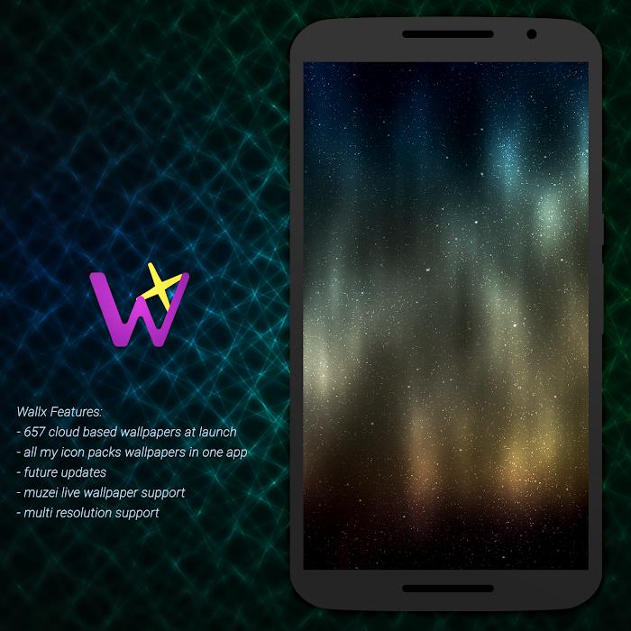 Wallx - Wallpaper Pack- screenshot