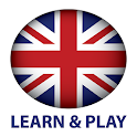 Learn and play. English + logo
