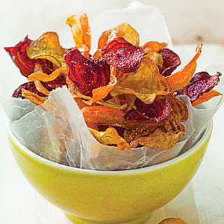 Carrot and Beet Chips.