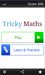 Tricky Maths - screenshot thumbnail