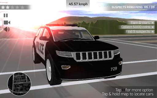 Super-Cop Car Simulator