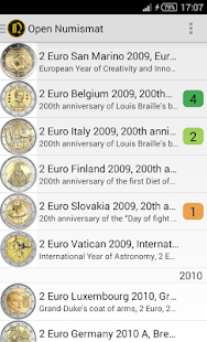 OpenNumismat- screenshot thumbnail