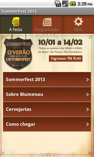 Sommerfest 2013 Oficial