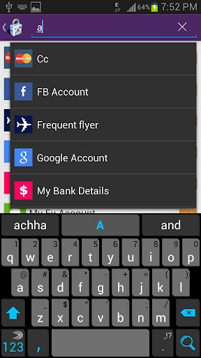 【免費生產應用App】Password Vault-APP點子