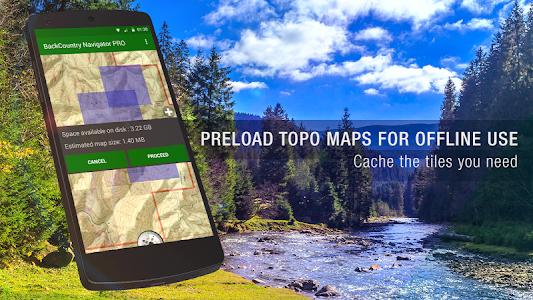 BackCountry Navigator TOPO GPS 6.8.0 (Paid)
