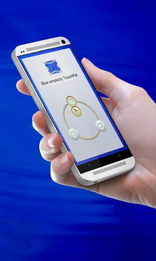 藍色簡約 TouchPal