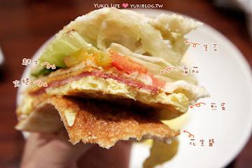 日式早餐(碳烤三明治)