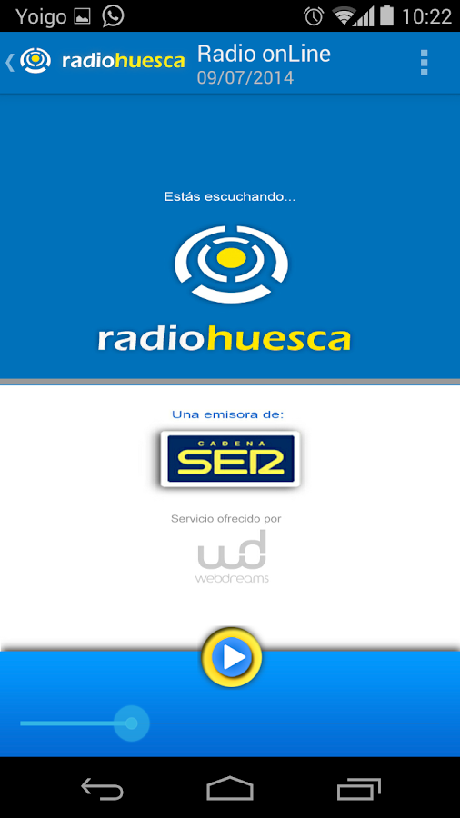 Radio Huesca- screenshot