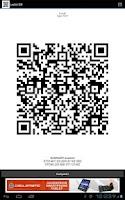 Screenshot of Barcode Generator/Reader