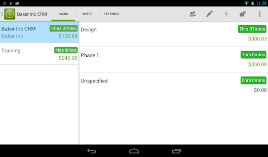 Timesheet - Easy Time Tracking - screenshot thumbnail