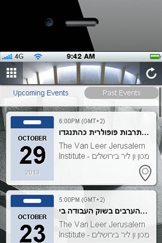 The Van Leer  Institute- screenshot